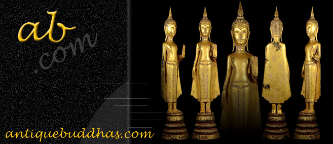 Extremely Rare Early 19C Thai Lanna Buddha #037-2