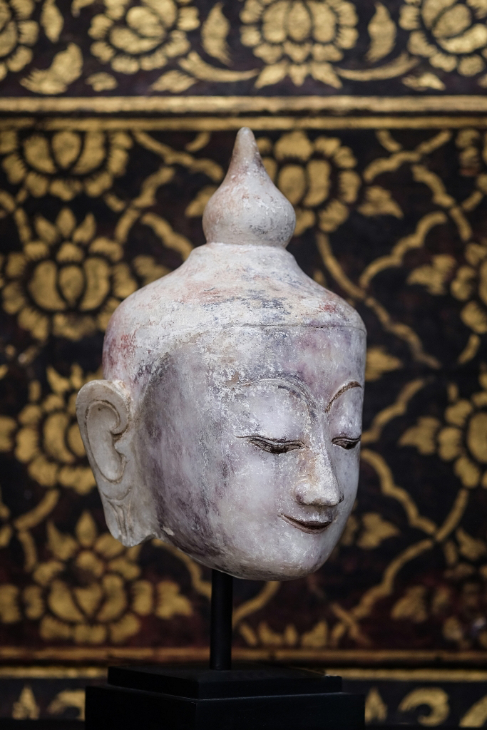 #antique #buddha #buddha head