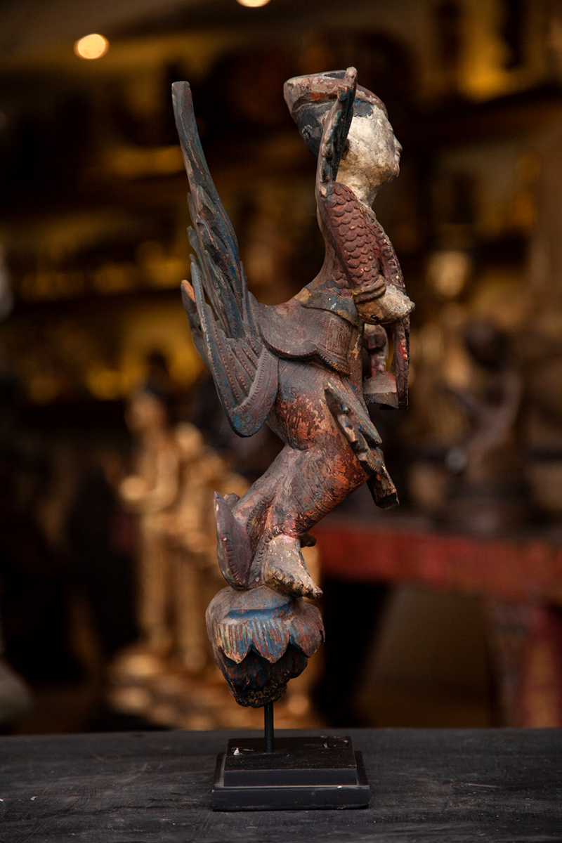 Extremely Rare Early 17C Bronze Ayuttaya Thai Buddha # BB127