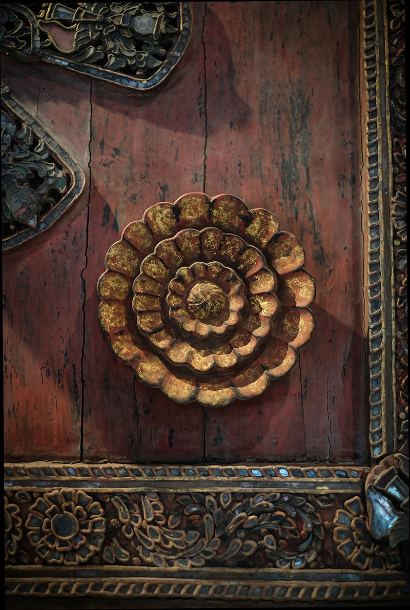 Early 19C Bronze Thai Lanna Temple Bell #CA1096