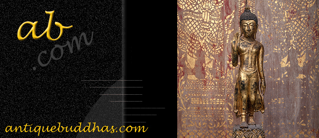 Extremely Rare Early 19C Thai Lanna Buddha #TA07