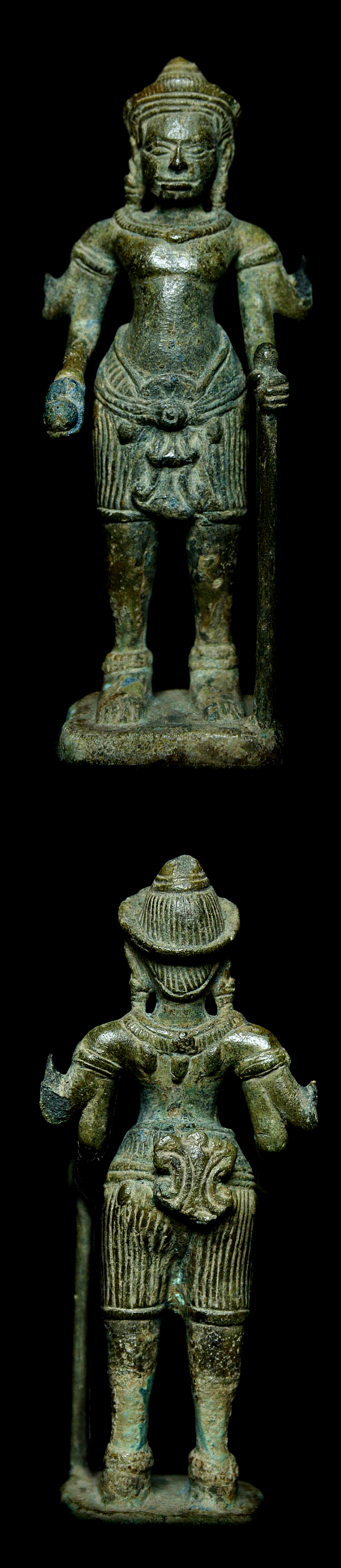 Extremely Rare 13C Khmer Sculpture #AL.027