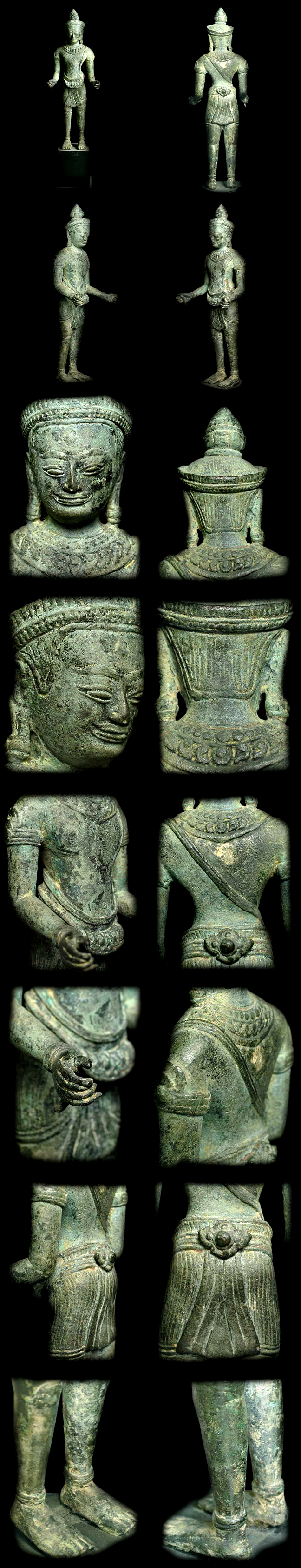 Extremely Rare 13C Khmer Siva Sculpture #Al.928