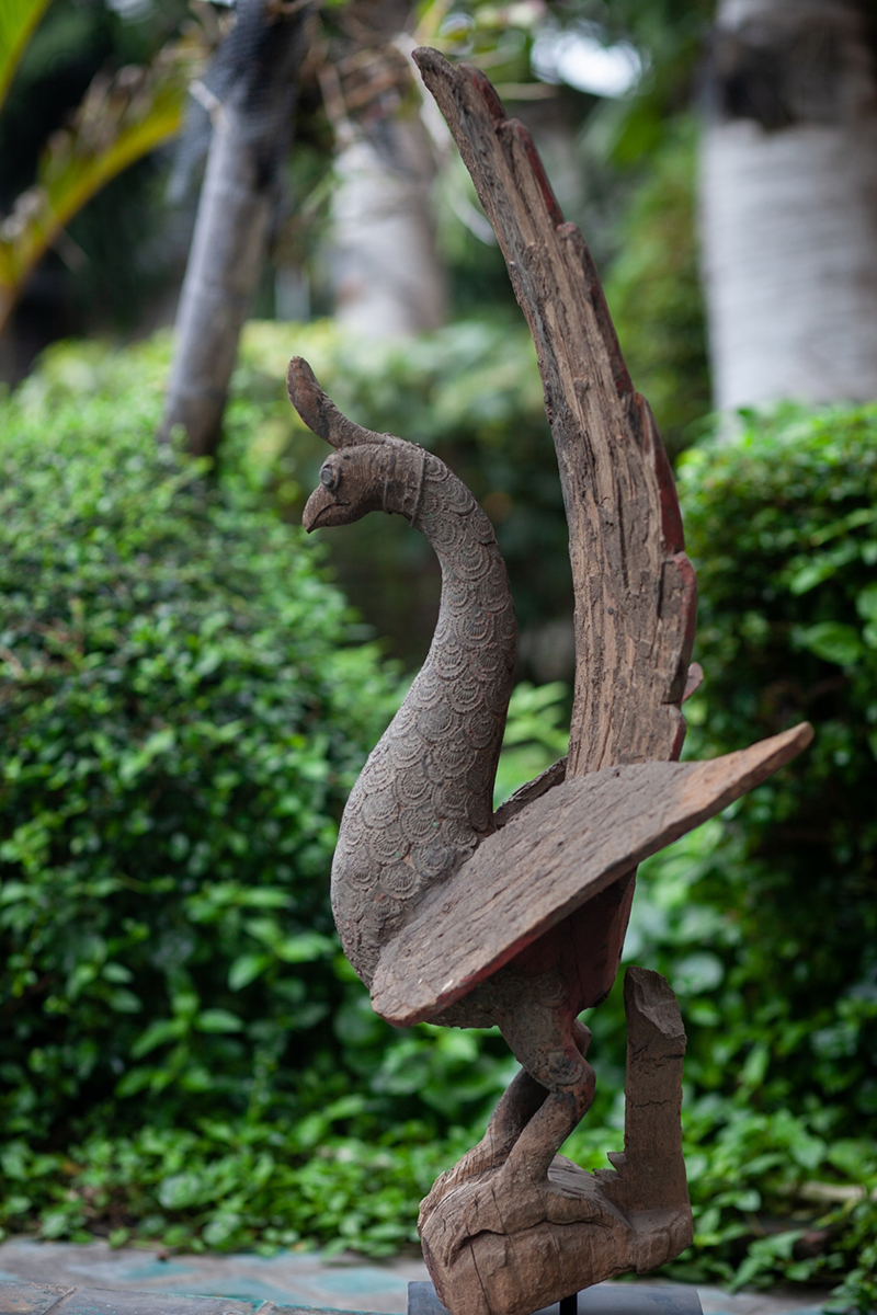 Extremely Rare Early 16C Bronze U-Thong Buddha # BB274