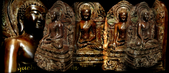 Early 16C Bronze Burma Pagan Temple Buddha Story Wall #BB14