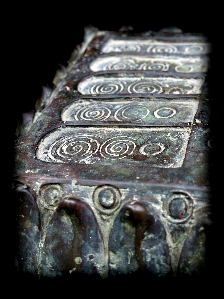 Early 19C Bronze Thai Lanna Footprint #DW0071