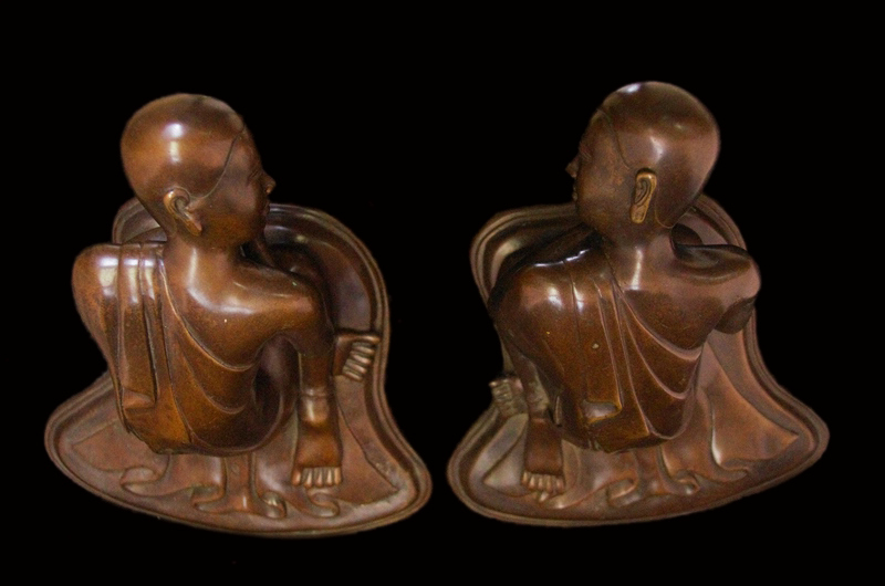 Buddhist Monk , Burmese Monk , Thai Monk , Wood monks