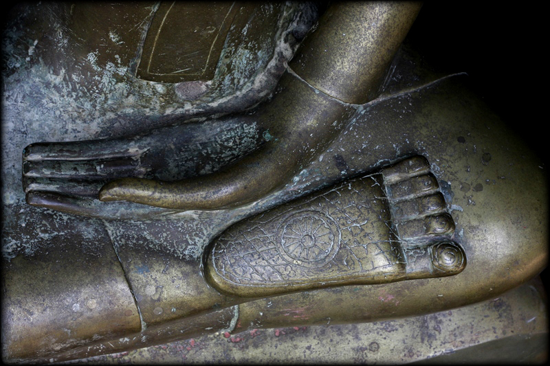 Extremely Rare Early 18C Bronze Chiangsang Buddha # CH1