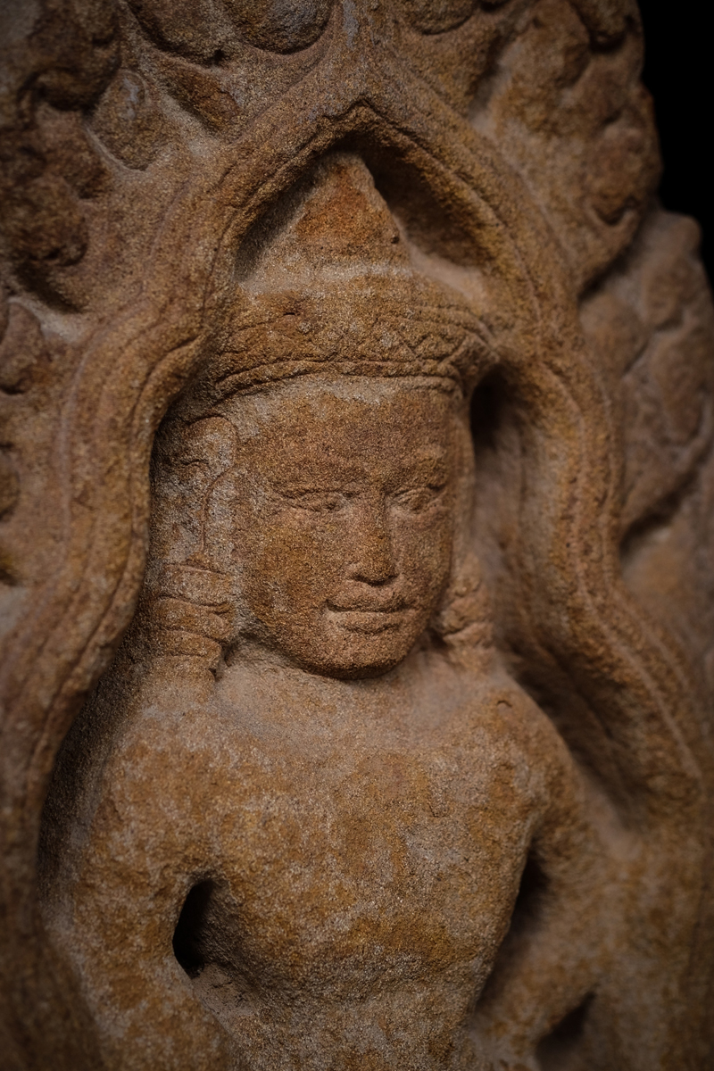 Extremely Rare Early 19C Wood Thai Lanna Buddha #B042-2